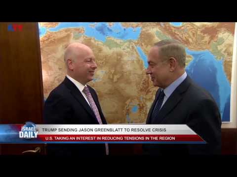 Trump Sending Jason Greenblatt to Resolve Crisis