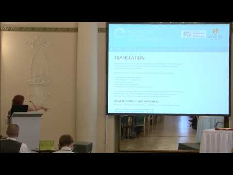 Delyth Prys (Bangor University): Best Practices for sharing Language Technology… (MLW8)
