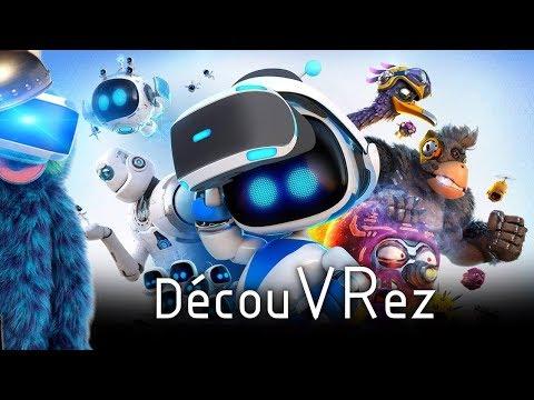 DécouVRez : ASTRO BOT   Stro Bien ! (PSVR) PS4 Pro   VR Singe