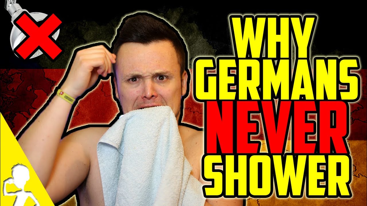 Why Germans NEVER Shower   Get Germanized - YouTube