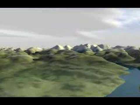 Flooding Switzerland - a Vision