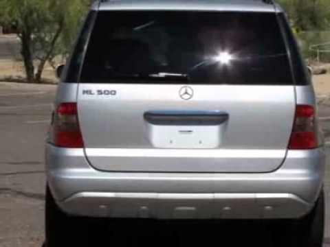 2005 Mercedes Benz M Cl Ml500 Special Edition Suv Phoenix Az You