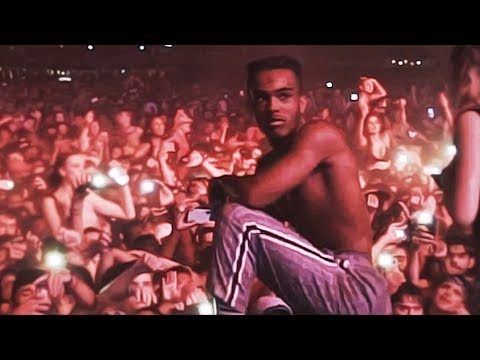 Xxxtentacion lit Rolling Loud set with Ski Mask [2018]