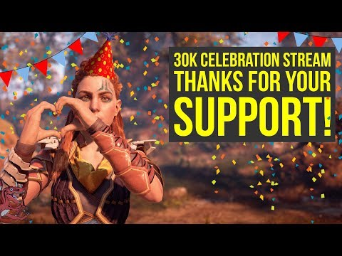 30K Subscribers Celebration Stream! Horizon Zero Dawn Ultra