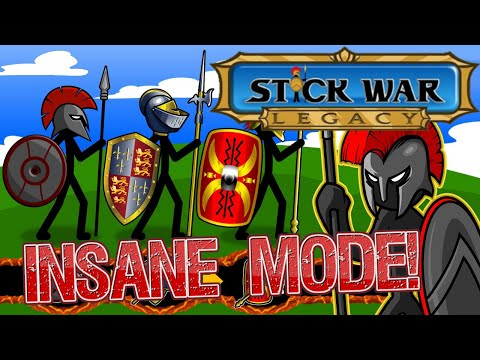 STICK WAR LEGACY INSANE MODE FULL RUN!