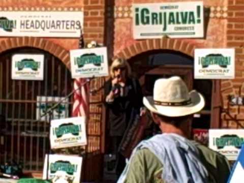 Mimi Kennedy Campaigns for Raúl Grijalva