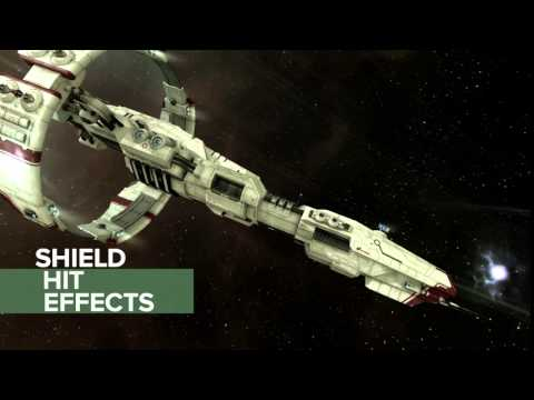 EVE Online - New Shield Effects
