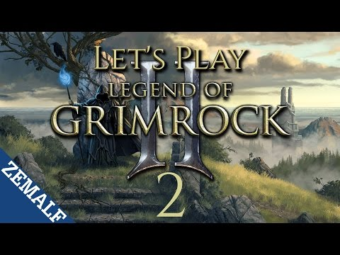 Let's Play Legend of Grimrock II - Part 2 - Shadow of the Blue Light