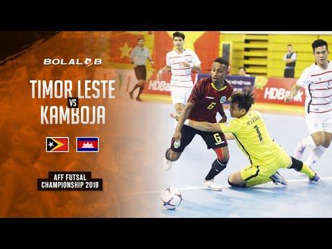 Timor Leste (4) Vs (4) Campuchia - AFF Futsal Championship 2019
