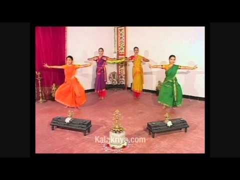 Bharatanatyam Adavus with Music