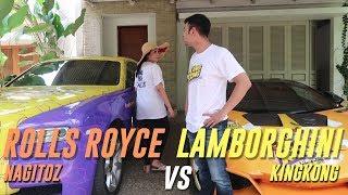 Balapan Lambo VS Rolls Royce