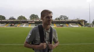 INTERVIEW | Charlie Wakefield post FC Halifax Town