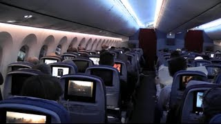 LAN Airlines 787 Inflight experience - Flying onboard the dreamliner