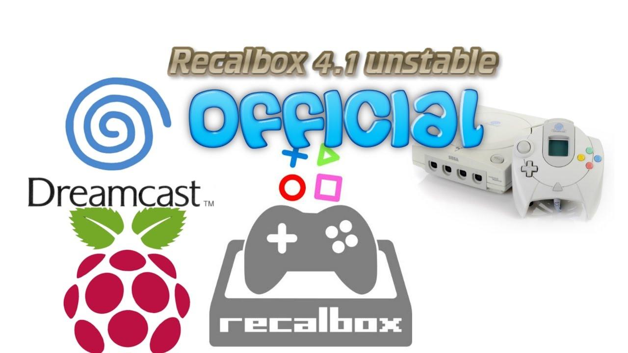 recalbox 4.1 unstable