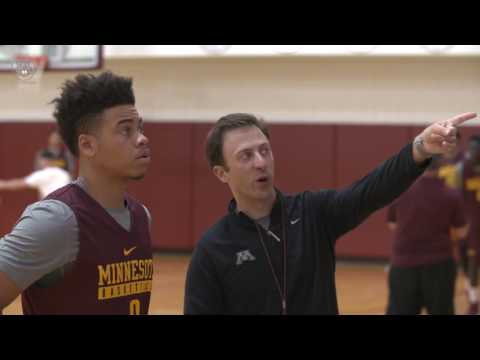 "Gopher Basketball ""For the M"": Coach Pitino Mic'd Up"