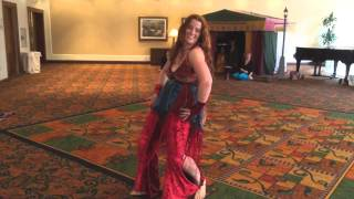 "Katherine the Great bellydances to ""No Pants Policy"" at 2014 Clockwork Alchemy"