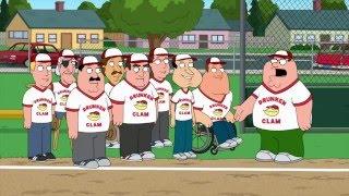 Family Guy - The Drunken Clammers Play Baseball