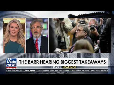 John Malcolm: AG Bill Barr was Unflappable
