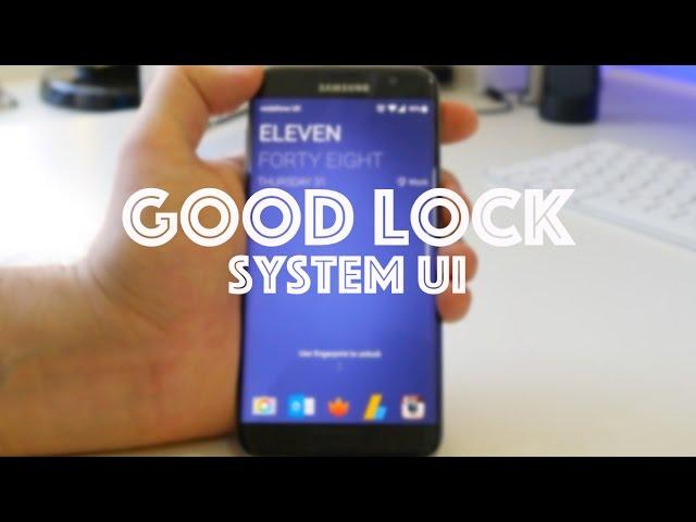 Good Lock: Walkthrough of Samsung's weird and wonderful