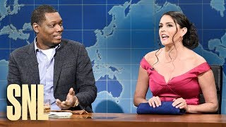 Weekend Update: Girl You Wish You Hadn't Started a Conversation with on the Coronavirus - SNL