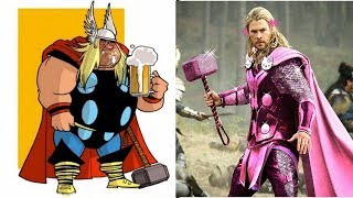 40  Hilariously Funny Superhero Thor Comics   Thor Funny Picture