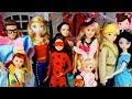 Barbie Dream House Halloween Dress up Party! SLIME PRANK