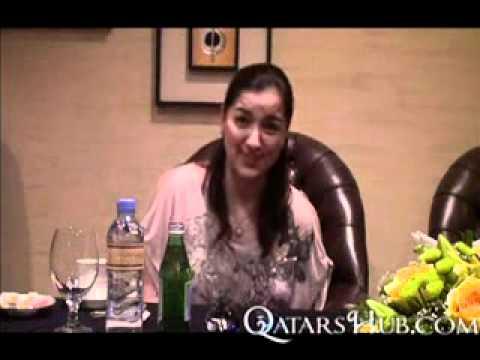 Ara Mina interview from Rakabayan 2 in Doha Qatar