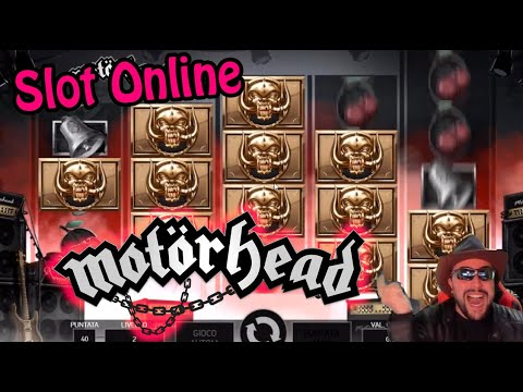 LET'S PLAY TO NETENT MOTÖRHEAD - 동영상