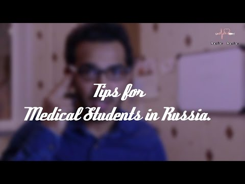 TIPS FOR MEDICAL STUDENTS IN RUSSIA  || IMRAN TALKS ||