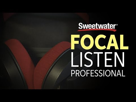 Focal Listen Pro Closed-back Reference Studio Headphones Overview