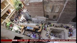 Alexander the Great or a deadly curse? - Black sarcophagus (Egypt) - BBC News - 20th July 2018