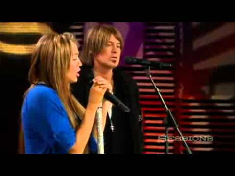 miley-cyrus-and-billy-ray-cyrus:-butterfly-fly-away-(aol-music-sessions)