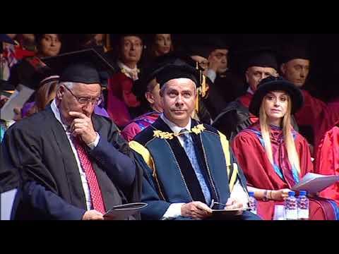 University of Nicosia Medical School Graduation Ceremony 2018