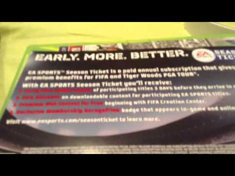 FIFA 13 online pass givawy
