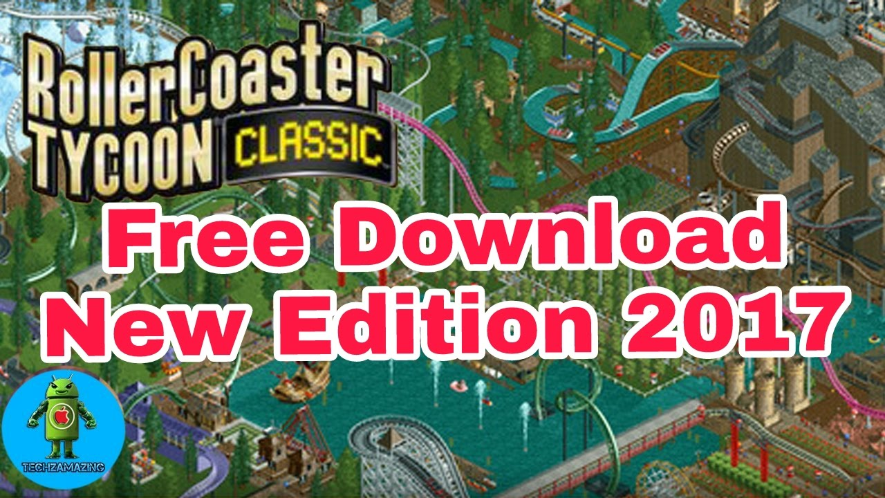 How to download rollercoaster tycoon classic