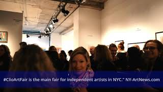 Opening Night Clio Art Fair March 7, 2019