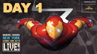 Marvel LIVE! at New York Comic Con 2015- Day 1