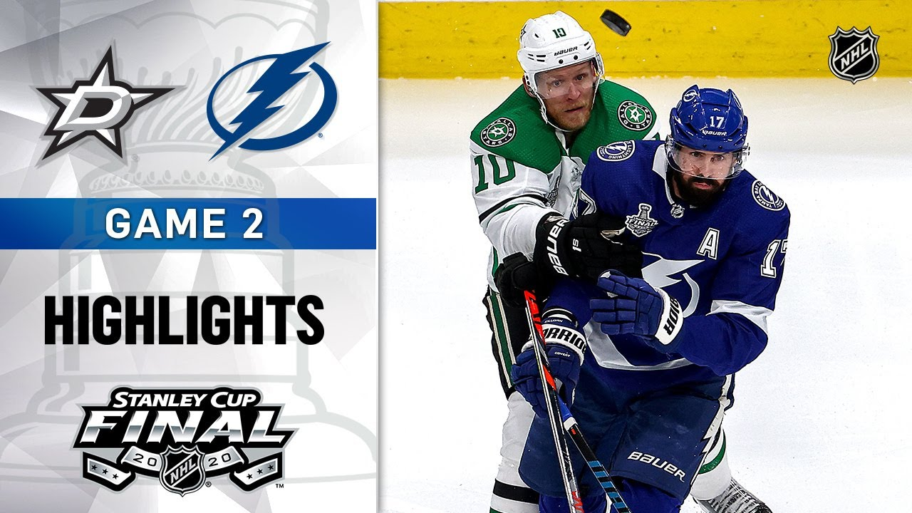 Tampa Bay Lightning Even Stanley Cup Final Series Against Dallas ...