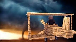 Minecraft: DESAFIO DO VEICULO 100% SEGURO CONTRA FURACÃO ‹ JUAUM ›