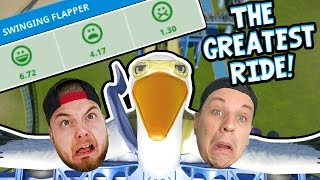 OUR GREATEST RIDE YET!! - Planet Coaster! #5 W/AshDubh!