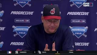 Cleveland Indians manager Terry Francona on  team's mindset staying the same as wins keep piling up