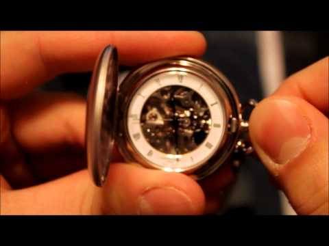 Charles Hubert Pocket Watch Unboxing and Review