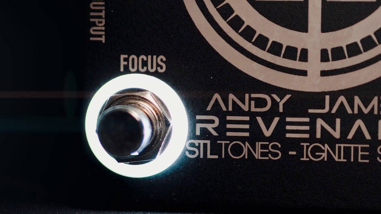 The Revenant - Andy James Signature Pre Amp Pedal