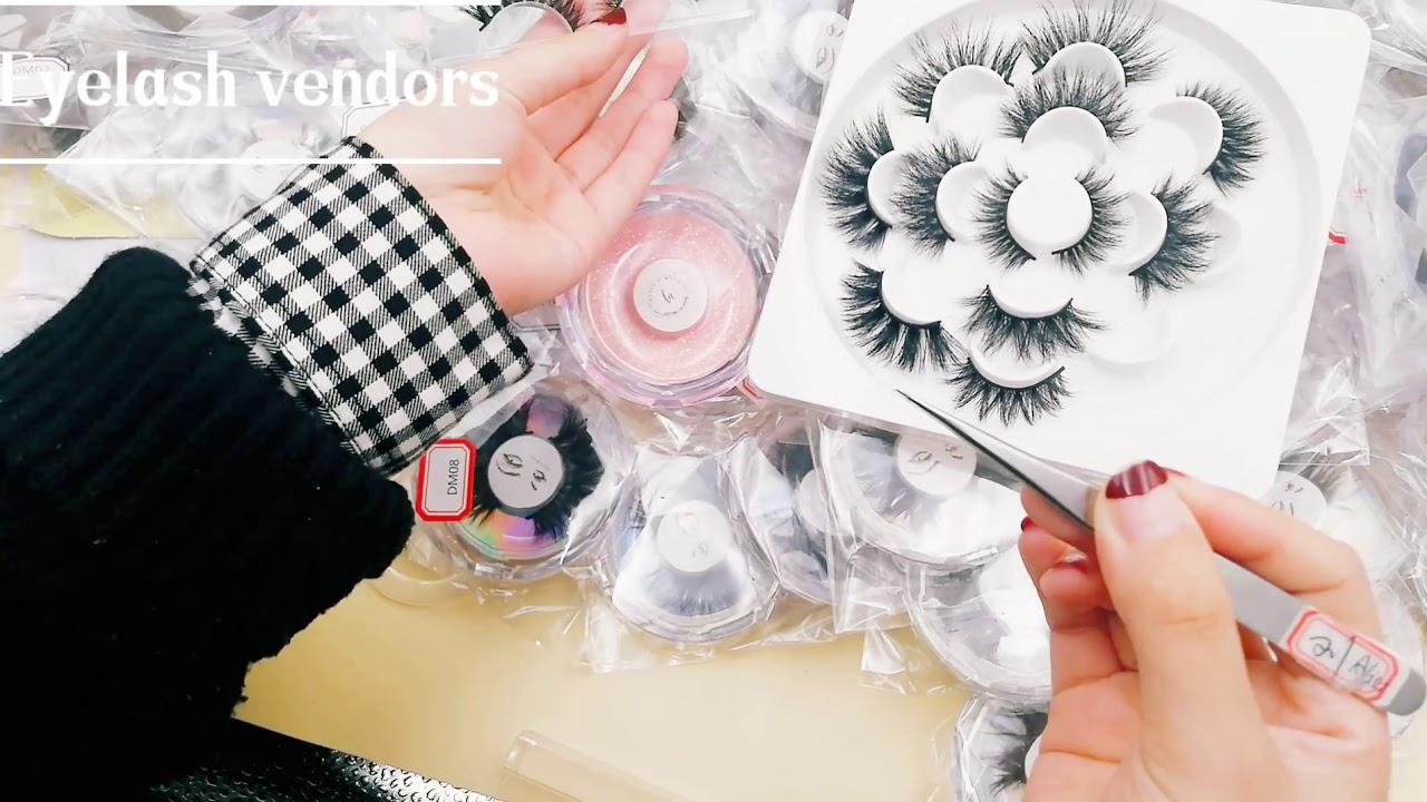 Wholesale 3D Mink Lashes Vendor USA 25mm Siberian Mink Strip