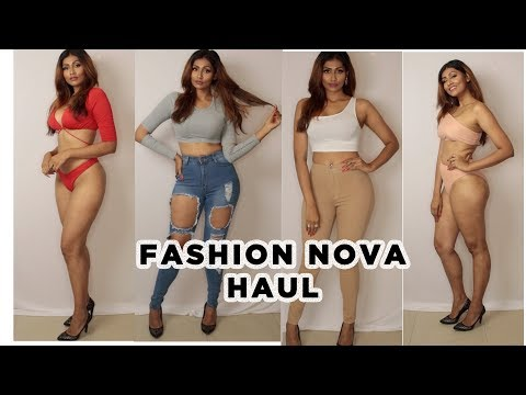INDIAN GIRL TRIES MORE FASHIONNOVA OUTFITS | SUMMER TRY ON HAUL | Bosslady Shruti