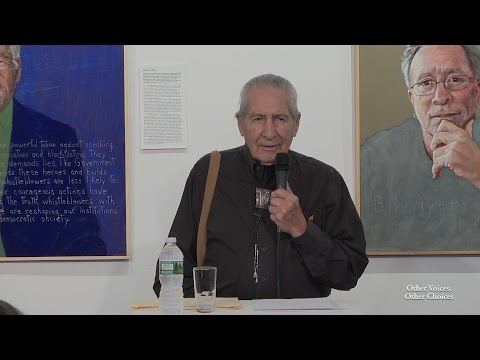 Oren Lyons at ArtRage