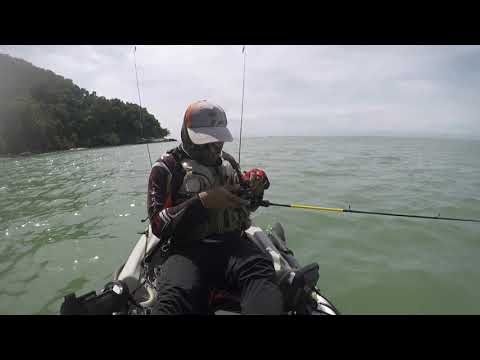 Solo Trip Tanjung Tuan - KAYAK FISHING MALAYSIA