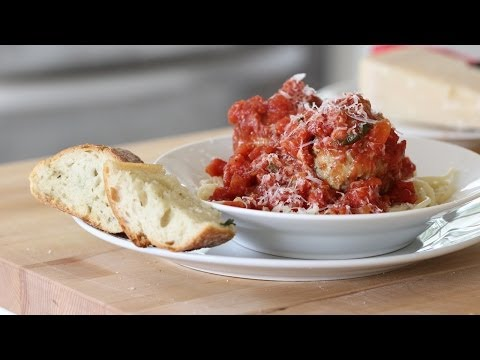 Beth's Spaghetti and Meatball Recipe | ENTERTAINING WITH BETH