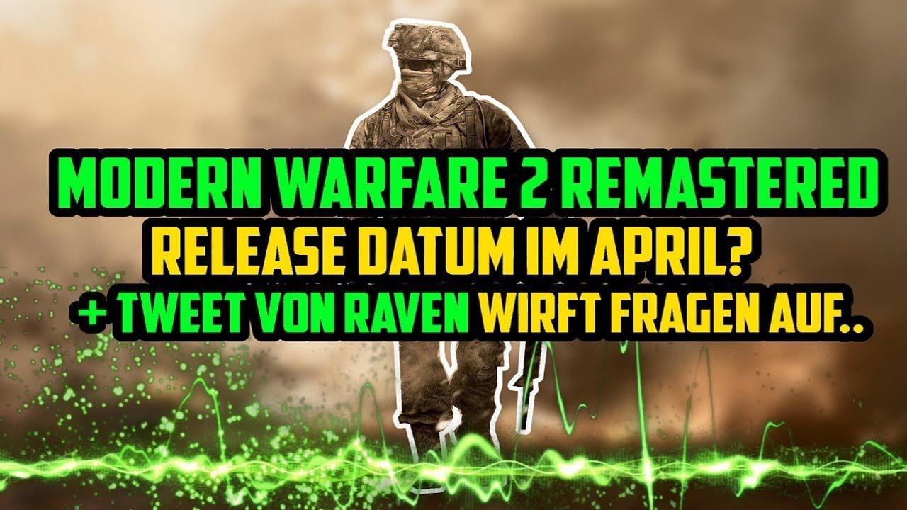 Modern Warfare 2 Remastered kommt in 1 Monat !! Was meint Raven ...