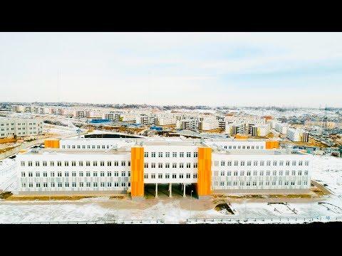 """Современная школа в микрорайоне """"Родниковой Долина""""из YouTube · Длительность: 2 мин24 с"""